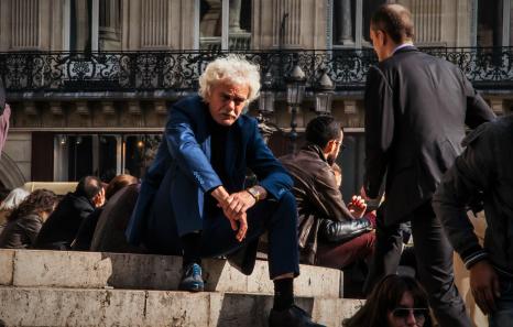 """Elena Amador """"Feeling Blue"""" en la Ópera Garnier de París, Francia (2016). Fuente: Instagram (@elenamadorh)."""